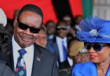 Malawi president sworn into office after securing re-election