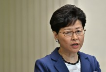 Hong Kong leader says extradition bill will not be scrapped
