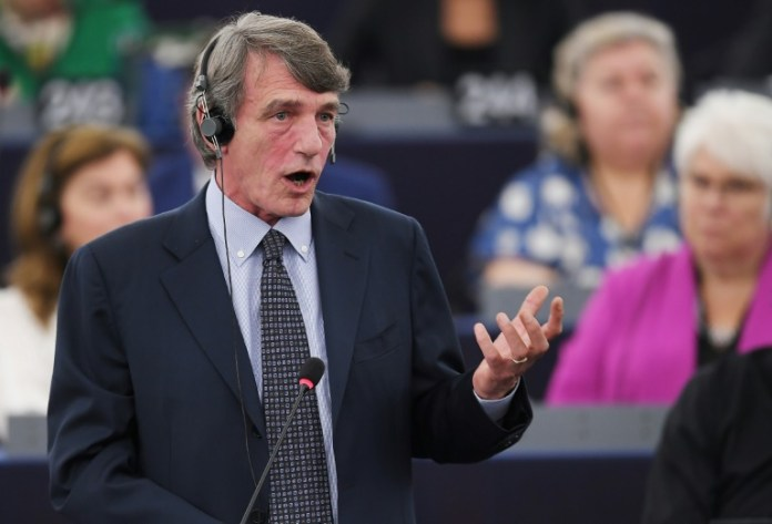 European Parliament chooses new president, completing top EU jobs