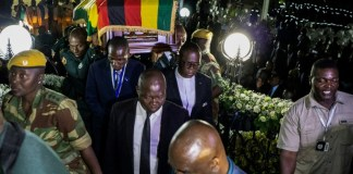 Mugabe's family and govt wrangle over Zimbabwe burial
