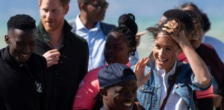 Harry and Meghan make pitch for mental health on S.African tour