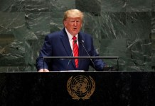 Trump vows pressure on Iran as Europeans seek UN breakthrough