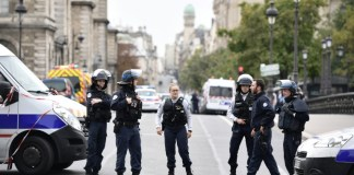 Four police killed in Paris stabbing, attacker shot dead