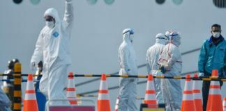 Sky News Africa 2 passengers of coronavirus-infected ship die in Japan