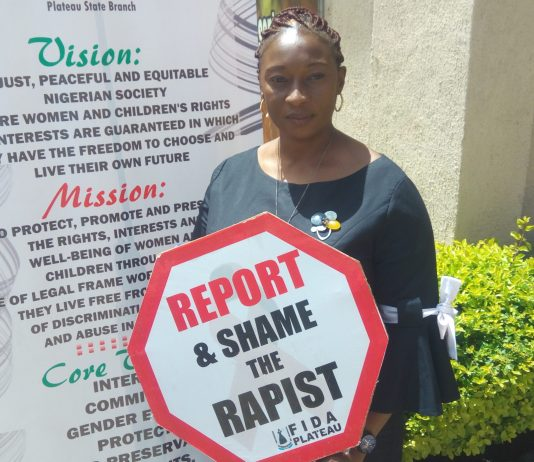 sky news africa Chairperson FIDA advocating against rape