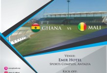 sky news africa Mali vs Ghana in a Friendly Football Match