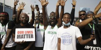 sky news africa Nigeria protesters demand police reforms for sixth day