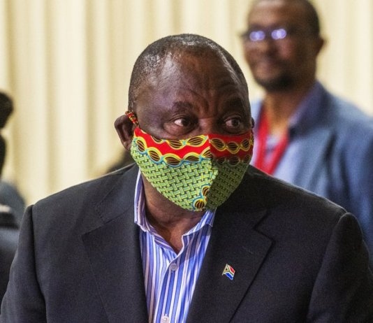 sky news africa South Africa's president in quarantine as virus cases rise