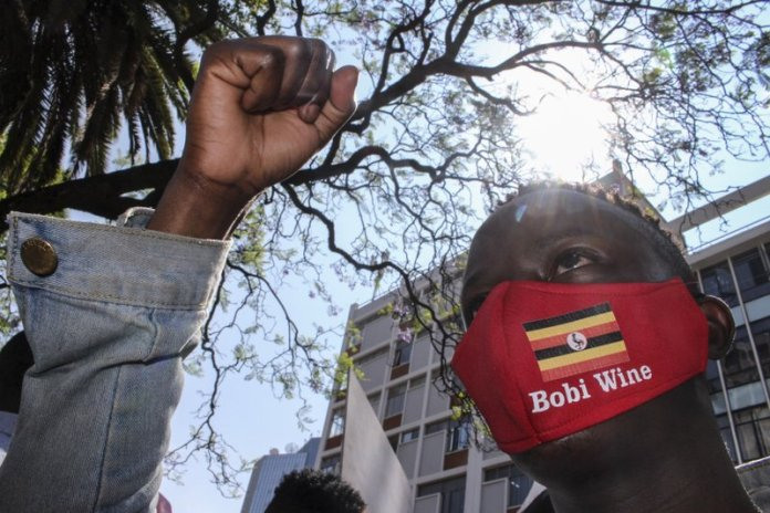 sky news africa Death toll up to 7 in Uganda's unrest after Bobi Wine arrest