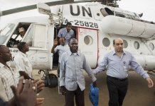 sky news africa UN to halt joint UN-AU peacekeeping in Darfur by year's end