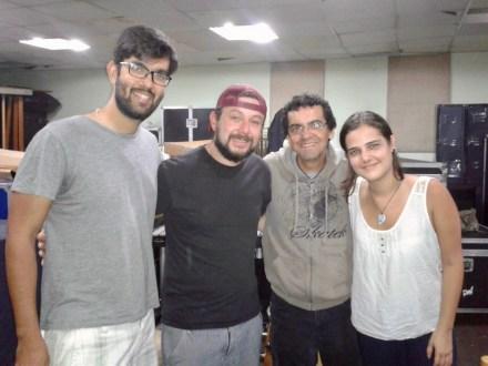 Rafael, Denis, Ronald y Carmen Elisa