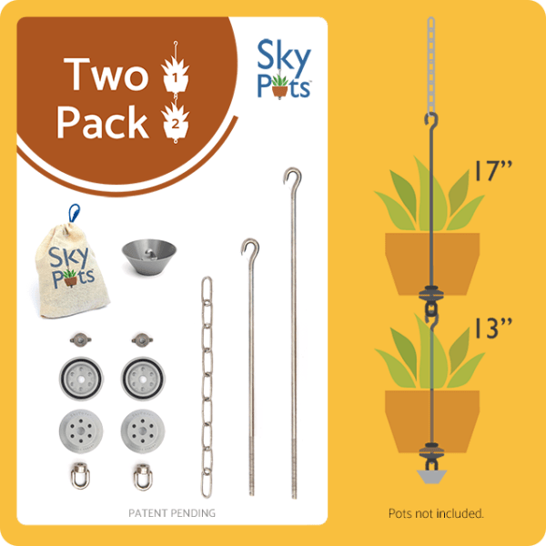 SKYPOTS TWO PACK