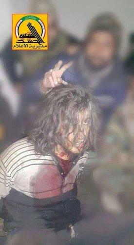 """بالصورة.. الحشد الشعبي يعتقل المدعو """"أبو حفصة"""" احد منفذي مجزرة سبايكر"""