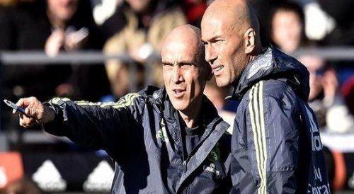 """تقارير تكشف""""فضيحة""""جديدة تعصف بريال مدريد وتؤكد: مساعد زيدان لا يملك رخصة مدرب"""