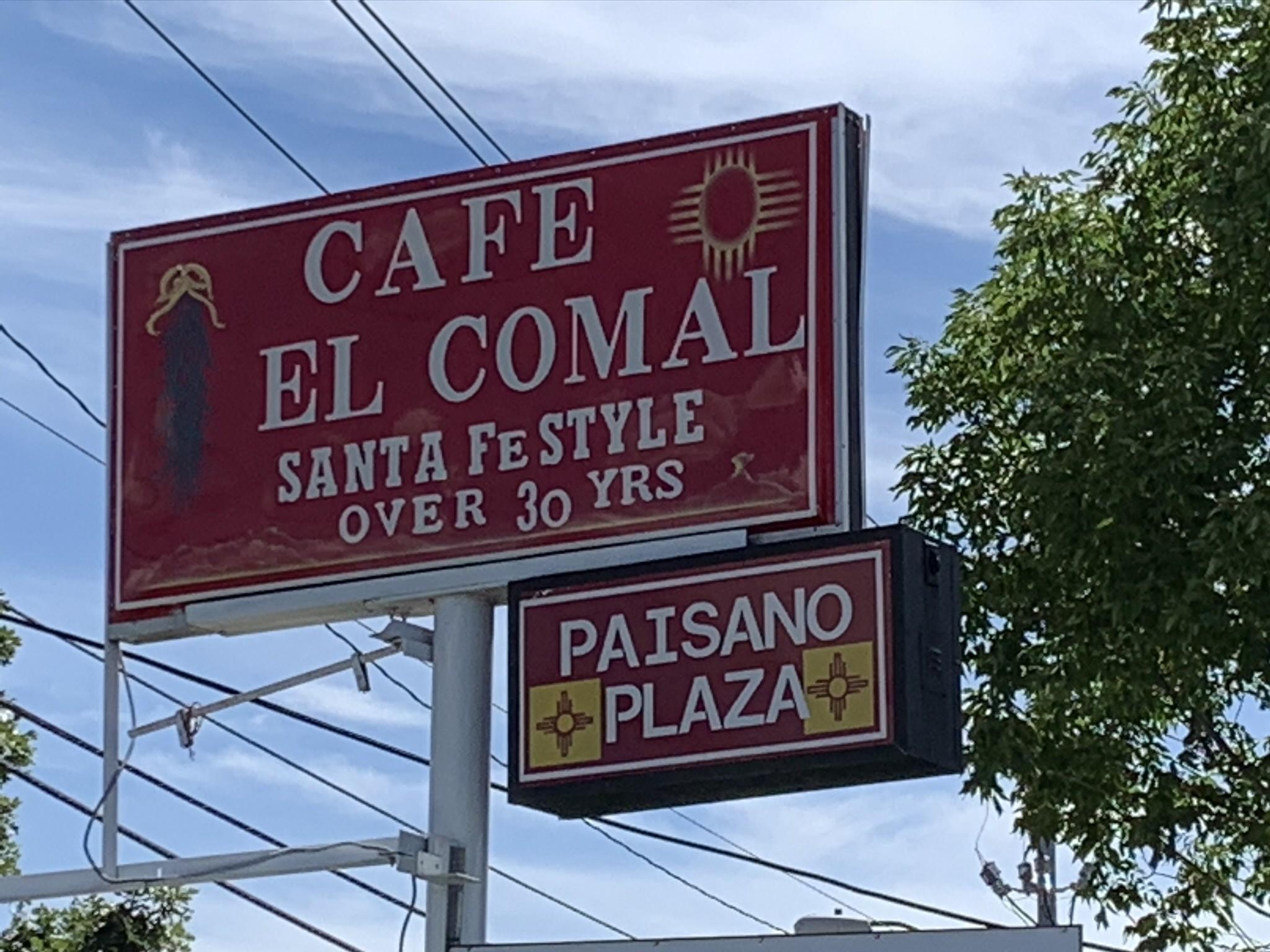 Cafe El Comal, Santa Fe, New Mexico