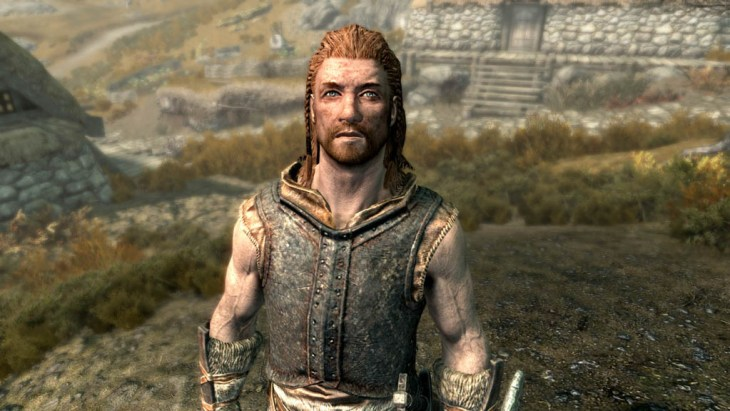 Erik The Slayer in Rorikstead, Skyrim