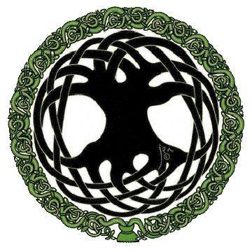 Mysidia's Tree of Life tattoo she has on her back.