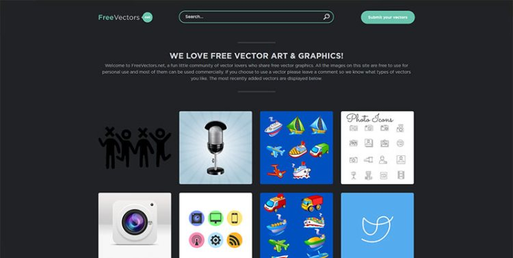 vector resources from freevectors
