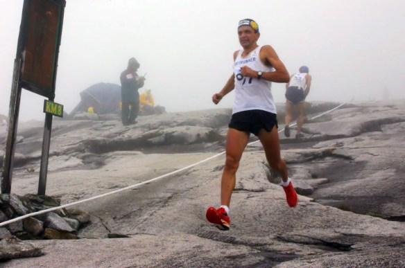 Bruno Brunod v seběhu na Climbathonu
