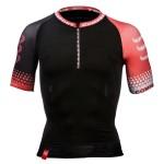 Compressport_Trail Running Shirt - SHORT SLEEVE - Black