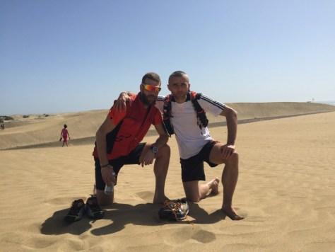 Na poušti u Maspalomas