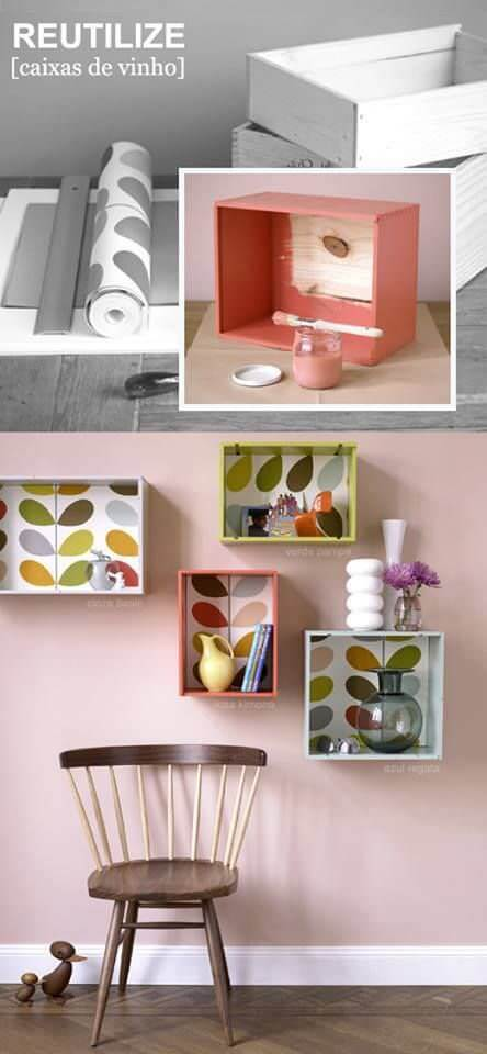 diy cheap creative Cool shelves
