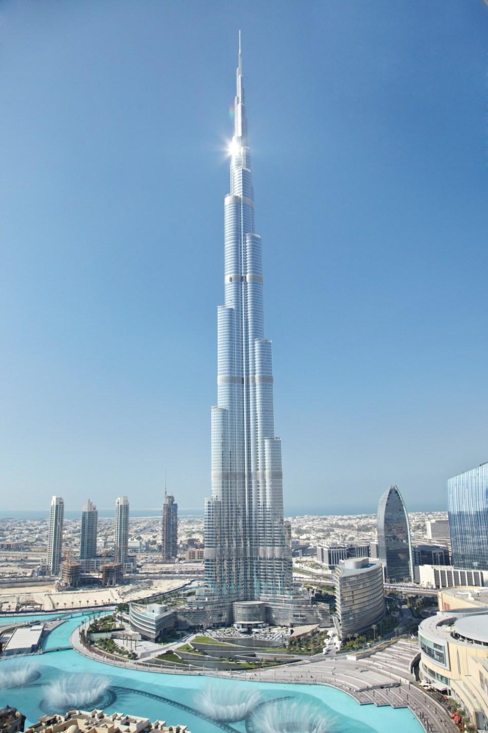 The completed Burj Khalifa, 2010. Credit: Emaar Properties
