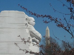 Martin Luther King, Jr. and the Washington Monument