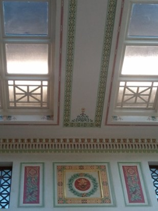 East Hall Detail - ceiling