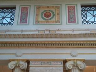 East Hall detail - details