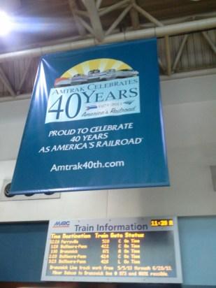 Amtrak celebrates 40 years