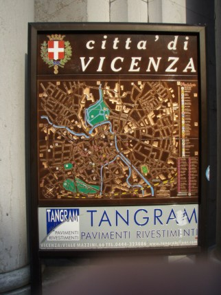 Citta'di Vicenza map