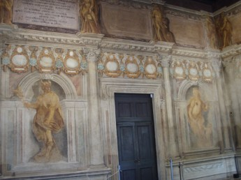 Upstairs Interior Teatro Olimpico