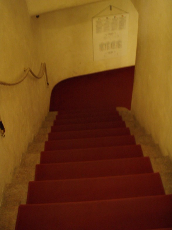 Stairs to theatre