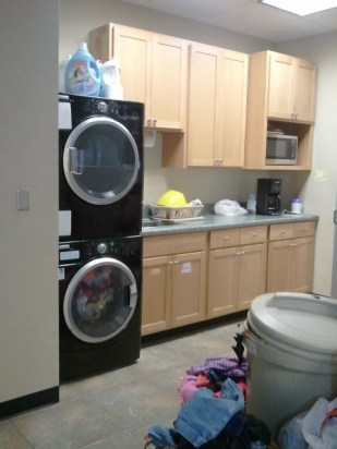Laundry facilities make sure all clothes are sparkling clean and stain free.