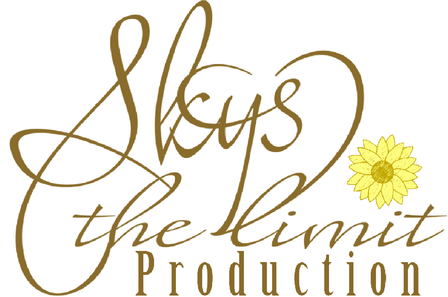 Skys the Limit Production Logo with Sunflower