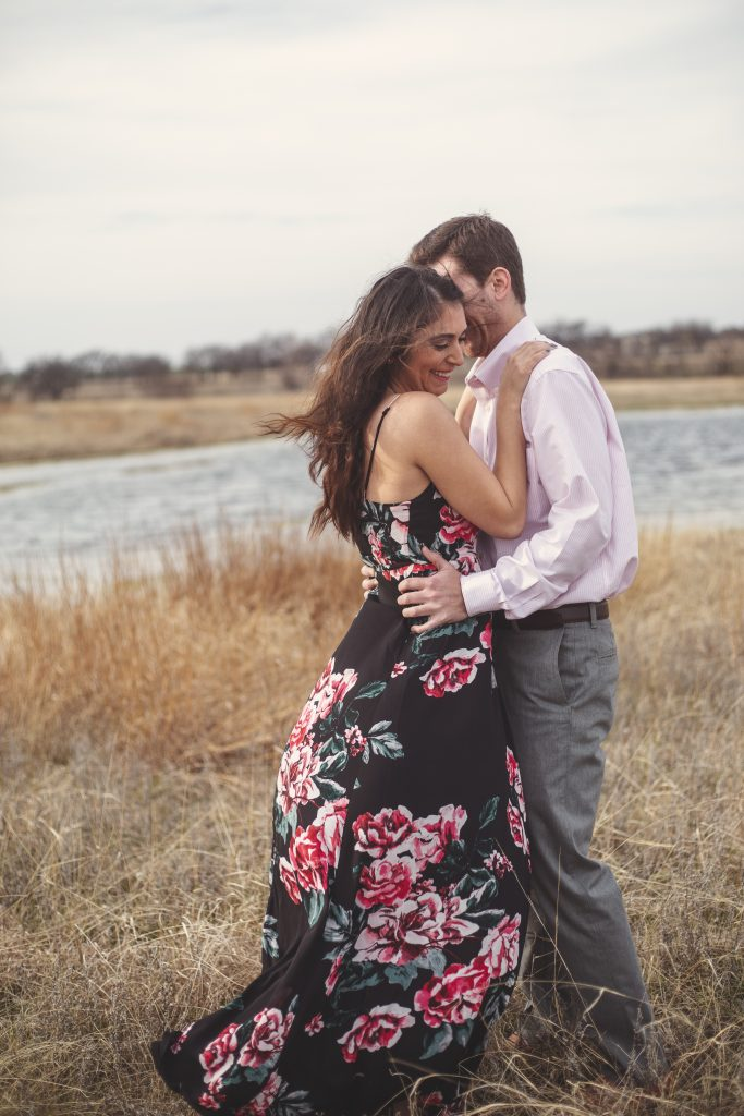 Engagement Session at Hawthorn Hills Ranch in Krum, Texas