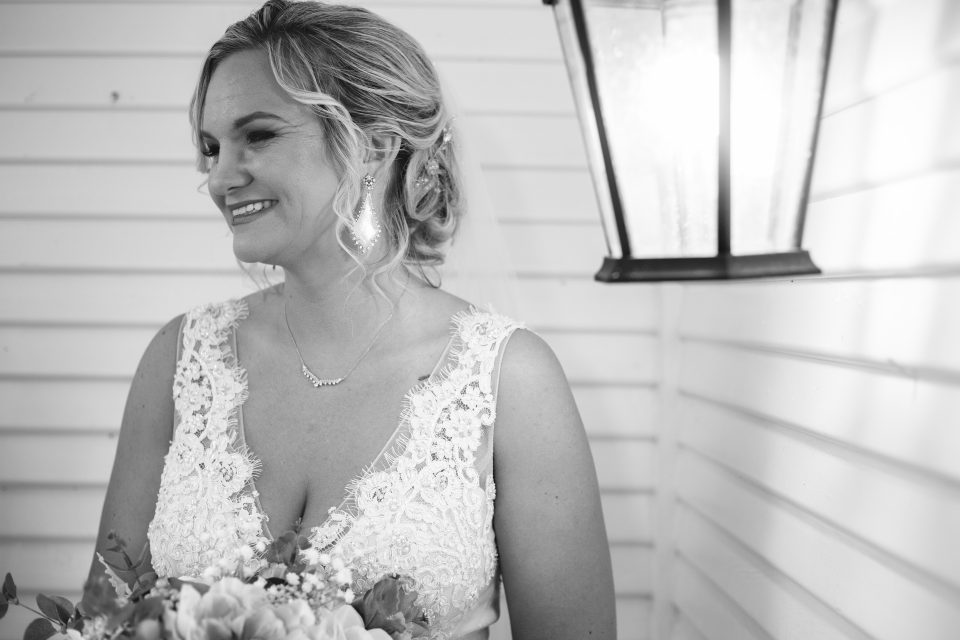 Bride waiting | chapel at chestnut square in McKinney, TX | Skys the Limit Production