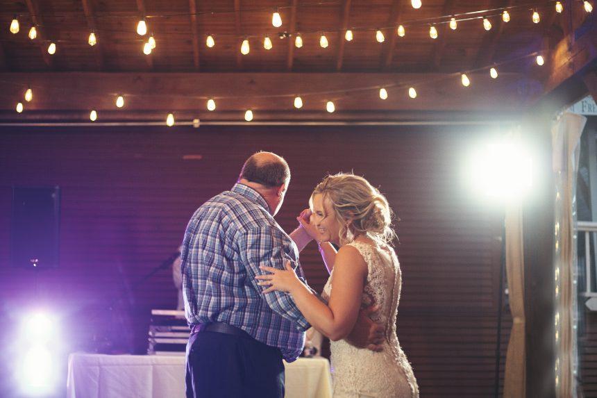 Daddy daughter dance | Mckinney Wedding Photographer | Chapel at Chestnut Square