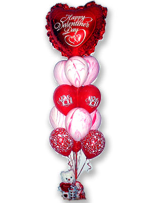 Love Struck St Valentines Day Love Romance Balloon