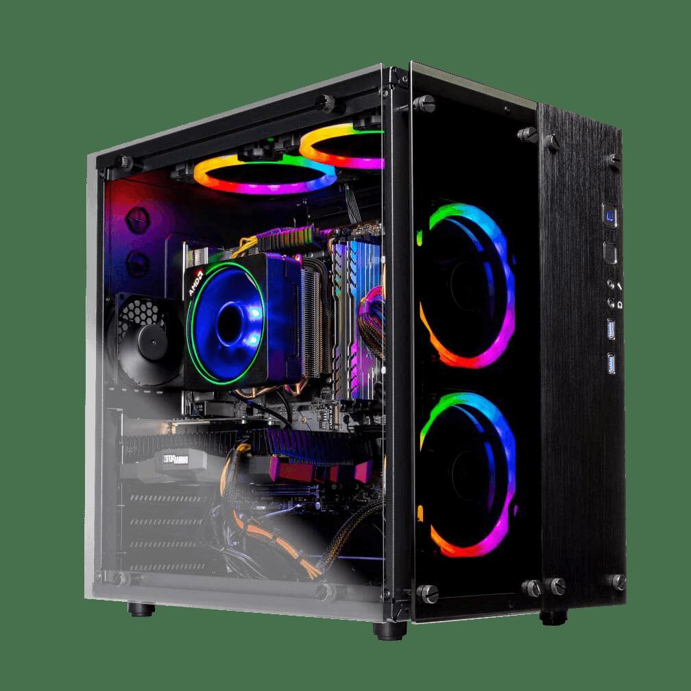 Legacy II AMD Ryzen 7 2700 8-Core 3.2GHz (4.1 GHz Max Boost)