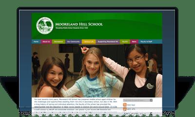 Private School Site Redesign