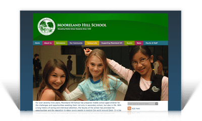 Private School Site Redesign