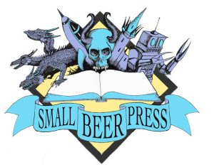 Small Beer Press logo by Theo Black of The Black Arts
