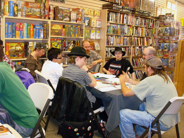 Modern Myths Anniversary All-Day Board Game Event!!