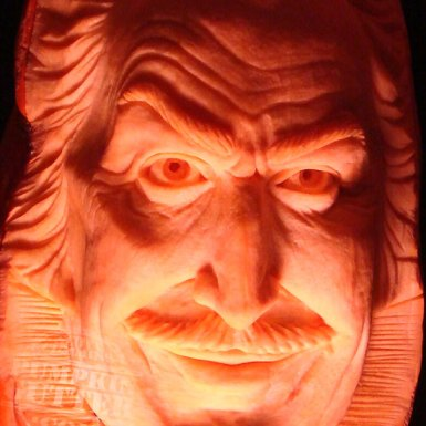 Crazy Pumpkin Carving Skills