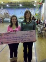 Brooke Strobino Gets Essay Award - Donates Winnings to Charity