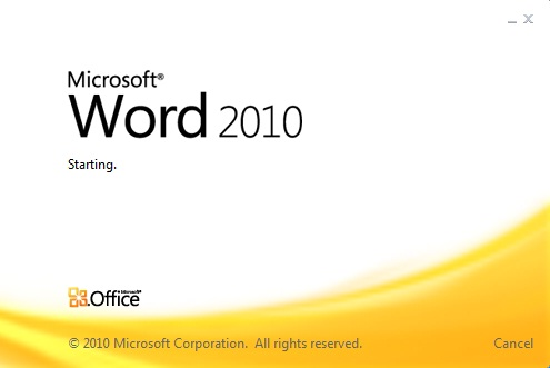How to fix font problem of Microsoft Word 2010?