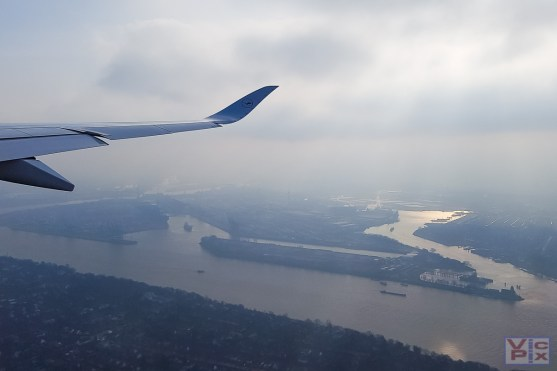 Wolken über Hamburg