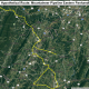 The hypothetical Mountaineer Pipeline Eastern Panhandle Expansion map. Base imagery provided by Google.